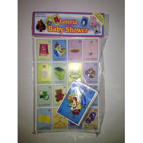 Buen Juego De Mesa Loteria De Baby Shower Despedida Fiesta