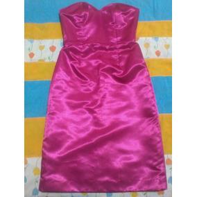 Vestido Formal De Satén Para Fiesta Muy Elegante Y Atractivo