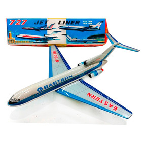 Avion A Friccion 1960/70 Nuevo Chapa Japon Lloretoys