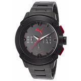 Reloj Puma Hombre Híbrido Cronógrafo 46mm Pu103711001