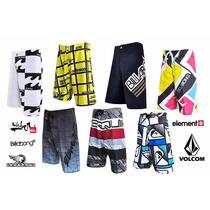 Bermudas Kit C/50 Shorts Tactel Varias Marcas Top Atacado
