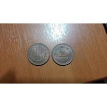 Lote Moedas 10 Yen Japão Japonesas 1979