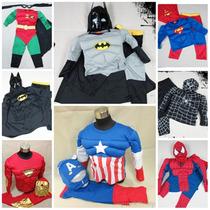 Disfraz Musculos Superman Batman Spiderman Flash Wolverine