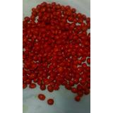 Semilla De Peonía Roja Y Pepas De Zamuro