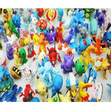 Fabuloso Set De 144 Figuritas Pokemon!!!