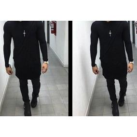 Sueter O Sweater Largos A La Moda (manga Larga Slim Fit)