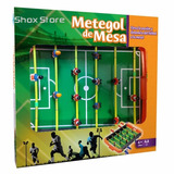 Metegol De Mesa Infantil Estadio Con Marcador Shox Store