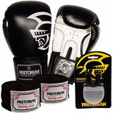 Kit Boxe Training Pretorian -12 Oz Preto