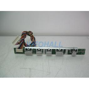 Placa Teclado Funções Hs-36a Monitor Fujilink B-17