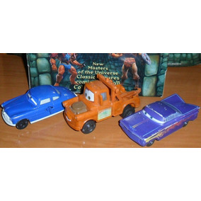 Lote Muñecos Originales Mcdonalds Mc Donalds Disney Cars