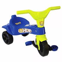 Triciclo Velocipede Azul E Rosa Menino E Menina Criança