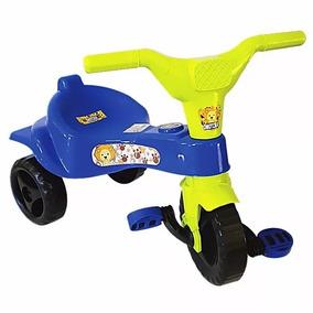 Triciclo Menina E Menino Azul E Rosa Velocipede Criança