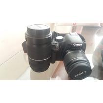 Máquina Fotográfica Canon Profissional - Modelo T1i + Lente