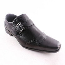 Sapato Social Em Couro Masculino Ferracini Preto Lançamento