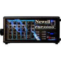 Mesa De Som Amplificada Usb/ Sd Card/ Efeito Newell Psp 2000
