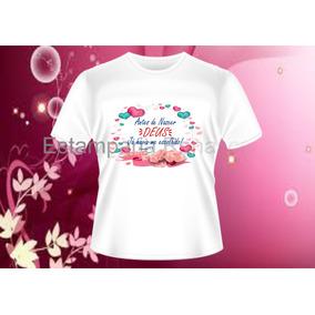 Camisetas Baby Look Ou Basica Personalizada Gospel