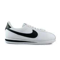 Tenis Nike Cortez Leather - Blanco Con Negro 819719-100