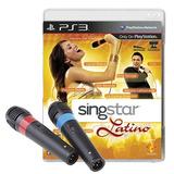 Singstar Latino Juego + 2 Microfonos, Karaoke, Ps3, Original