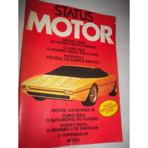 Revista Status Motor Copersucar Dodge Charger Maverick Puma