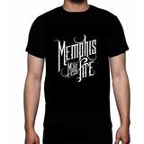 Camiseta Memphis May Fire Metalcore