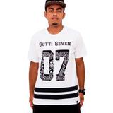 Camisa Swag Bandana Listrada Masculina Hip Hop Gutti Seven