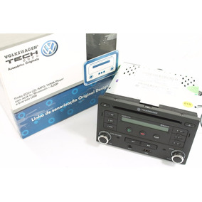 Radio Cd Mp3 Bluetooth Usb Novo Original Vw Tech Golf Polo
