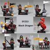 Figuras Compatibles Con Lego De Caballeros Medievales
