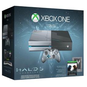 Consola Halo 5 Guardians 1tb Xbox One Nueva Blakhelmet Sp