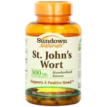 Hierba De 300 Mg De Sundown Naturals St. John. 150 - Cápsula