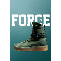 Nike Air Force Special Field Airforce Sf Bota