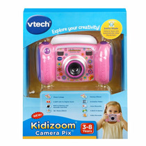 Camara Infantil Fotos Y Video Con Juegos Vtech Rosa