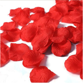 1.000 Pétalas Rosas Artificiais Vermelhas Casamentos Noivas