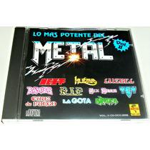 Cd Rock / Lo Mas Potente Del Metal Vol 2