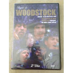 Dvd Diario De Woodstock - Santana - The Who - Joplin - Novo