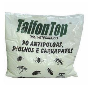 Talfon Top Pó Antipulgas, Piolhos E Carrapatos Indubras 100g