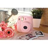 Fujifilm Instax Mini 8 Camara Instantanea Rosa Origina Nueva