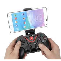 Gamepad Bluetooth Para Android, Tablet, Phone, Tv Box + Clip