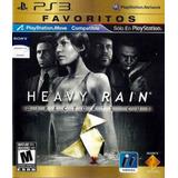 Heavy Rain - Ps3 Fisico - Nuevo Y Sellado
