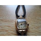 Reloj Antiguo Bulova De Oro 10 K Dama