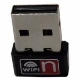 Aw65 Micro Receptor Adaptador Wireless Sem Fio Internet Nano