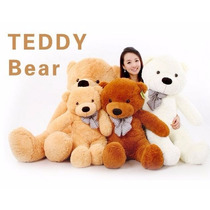 Urso Pelúcia Gigante 2metros Teddybear Marfim