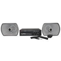 Fonestar Equipo Movil De Sonido 30 Watts Usb/cd Modelo Pem82