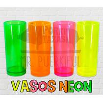 Vaso Neón Fluorecente 11 Onz. Liso