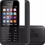 Nokia Asha 220 Preto Câm 2mp Duos Nacional Nf-e I Vitrine