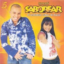 Cd Forró Saborear Vol.05 Original + Frete Grátis
