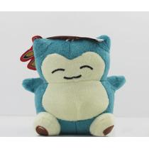 Pokemon Peluches Snorlax 14cm Envío Incluido Por Dhl