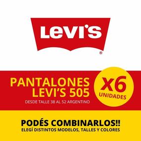 Jean Levis (levi`s) 505 - Solo Por Media Docena 6 Unidades
