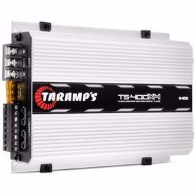 Amplificador Taramps Ts 400x4 400 W Rms 4 Canales Full Rango