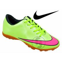 Chuteira Nike Society Grama Sintetica Mercurial Magista N2*
