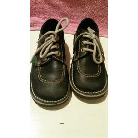 Zapatos Escolares Azul Oscuro Kickers T. 31